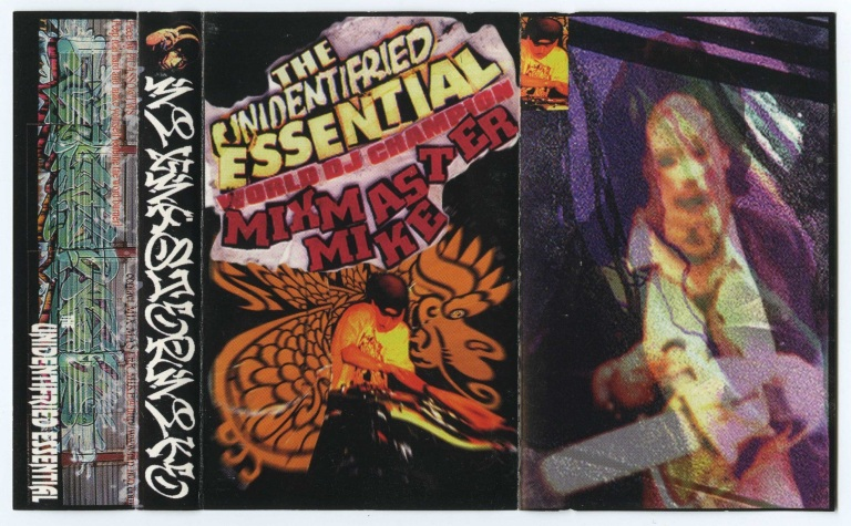 Mixmaster Mike - Unidentifried Essential Front Cover