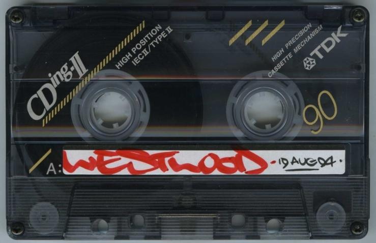 Westwood – Capital Rap Show 19 August 1994 - A