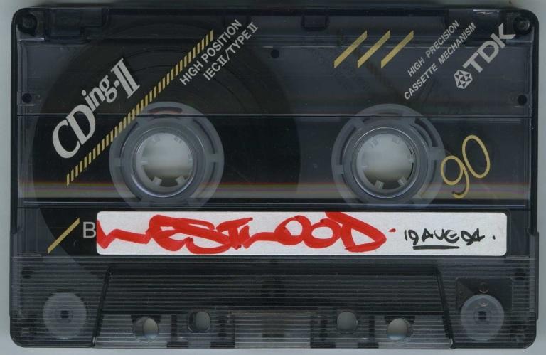 Westwood – Capital Rap Show 19 August 1994 - B