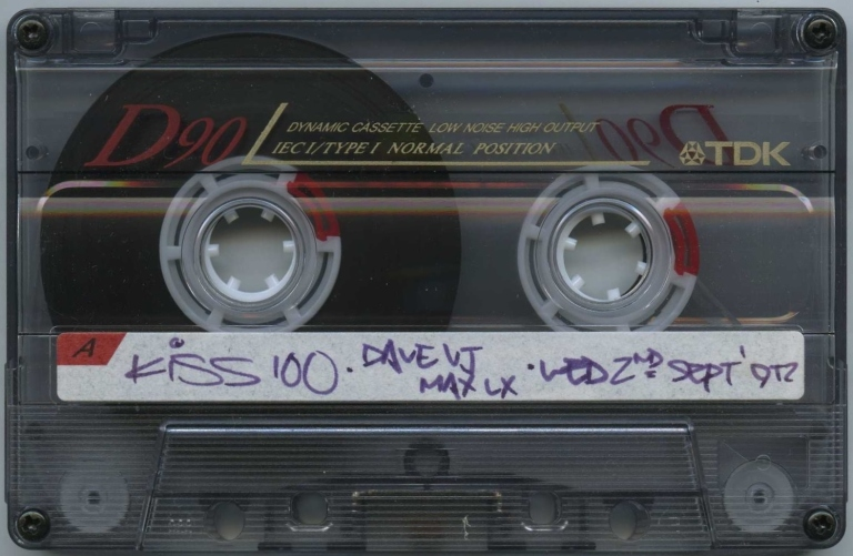 Max & Dave - 2 September 1992 Side A
