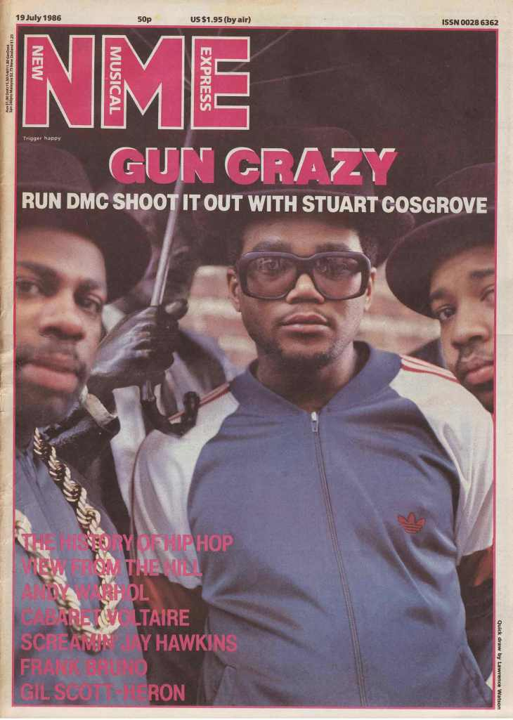 NME Run DMC - Madison Square Gardens Cover Gun Crazy