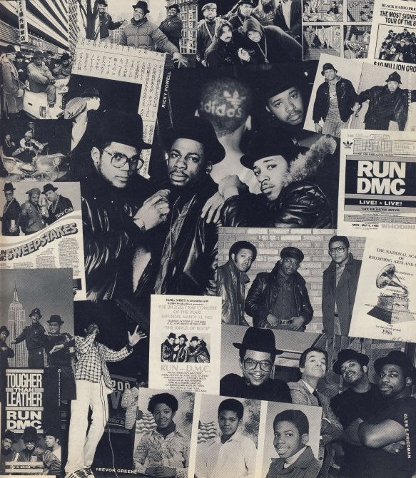 Run DMC Collage
