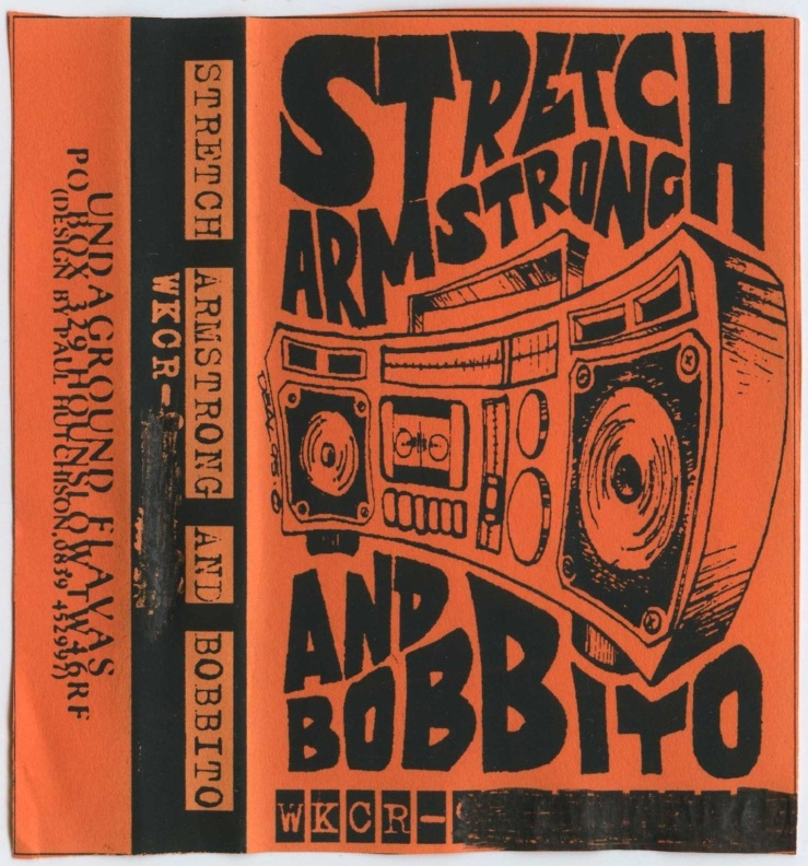 Stretch Armstrong & Bobbito Show - November 30 1995 Tape Cover
