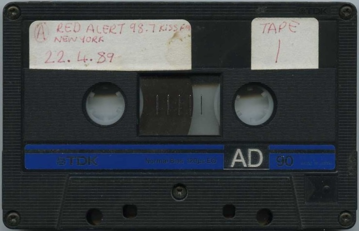 DJ Red Alert - WRKS Kiss FM 22 April 1989 Tape 1