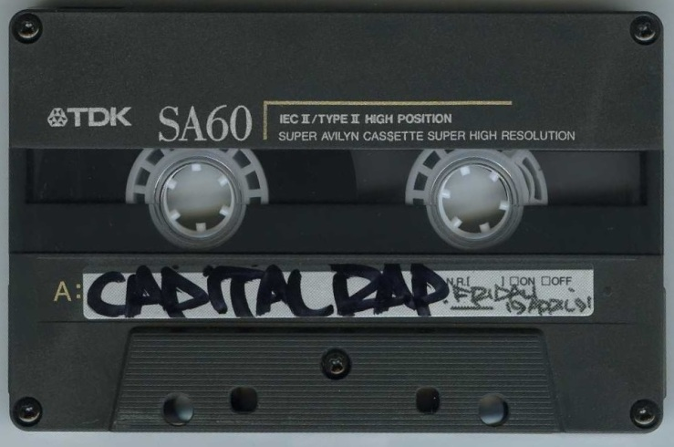 Westwood Feat Gangstarr [Capital Rap Show] - 19 April 1991 - Tape