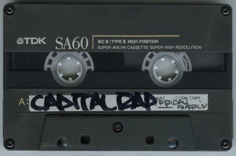 Westwood Feat Gangstarr [Capital Rap Show] - 19 April 1991 - Tape
