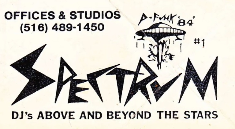 Spectrum City business card