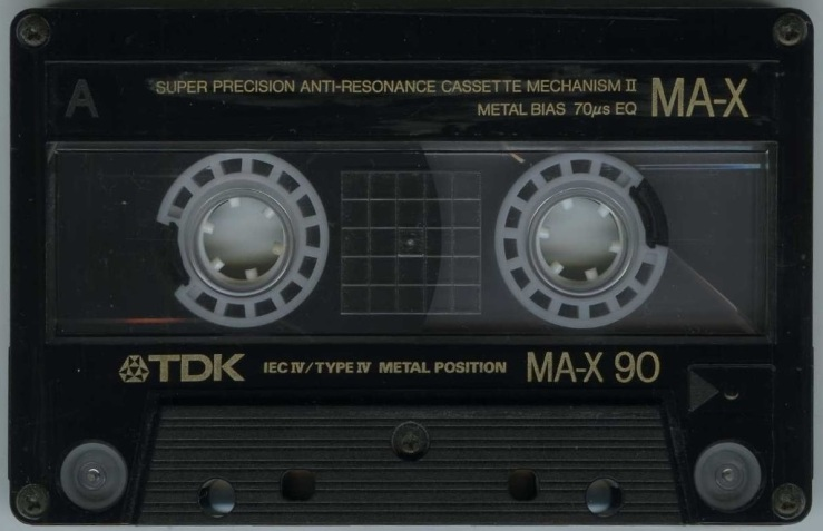 MAX & DAVE KISS FM 1993 TDK MA-X 90 TAPE [MR LAWSON] - Copy