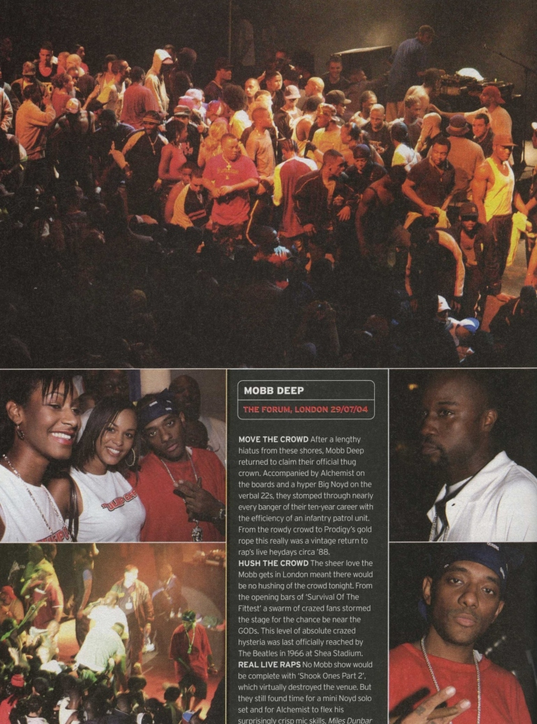 Mobb Deep - Live in London - 29 July 2004 Review