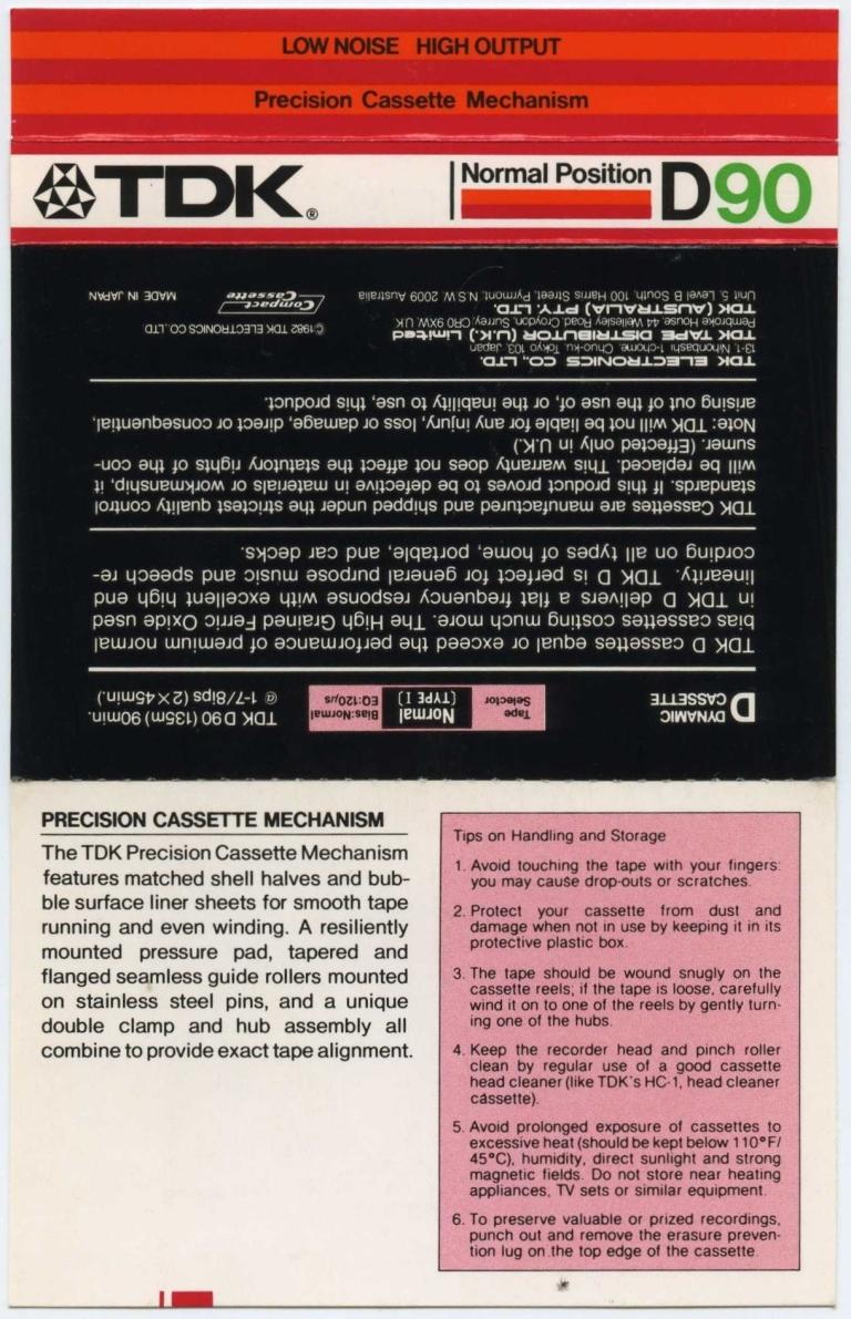 Frankie Crocker 107.5 WBLS 10th & 15th Sept 1983 J-Card