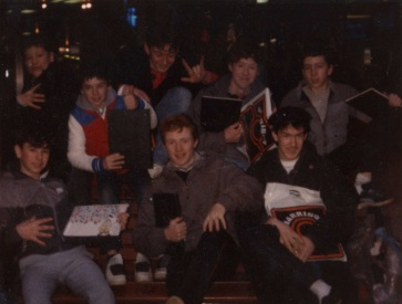 Belfast writers bench mid-80s