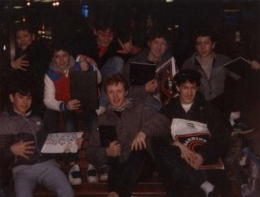 Belfast writers bench mid-80s