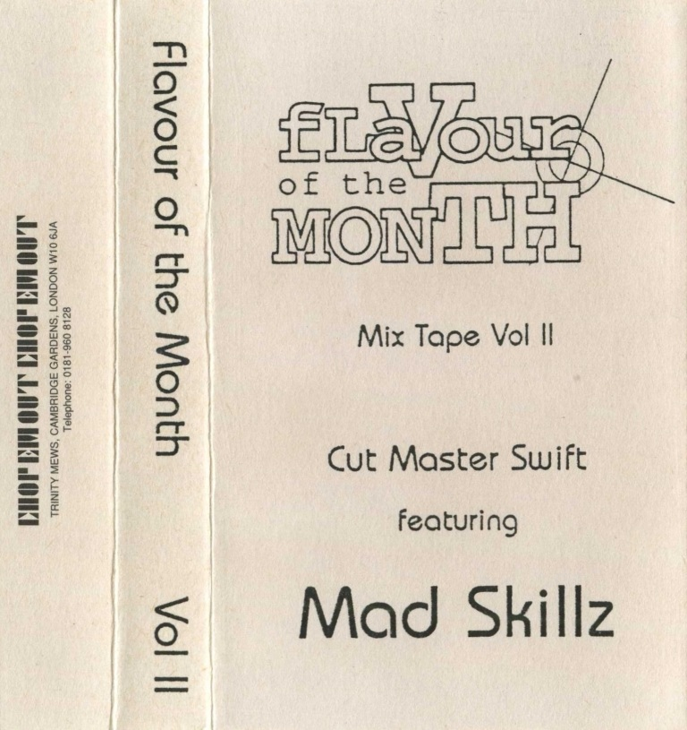 Mad Skillz Live @ Flavor of The Month March 1996 - JCARD