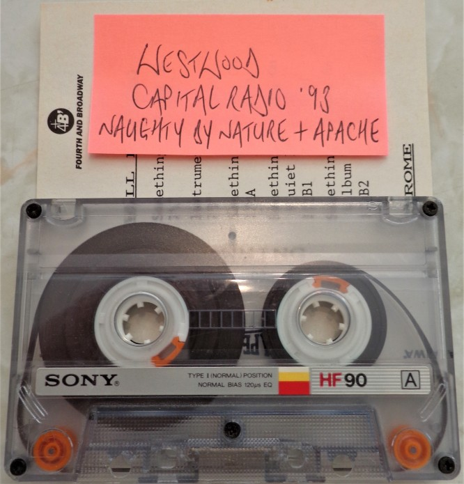 Westwood Capital Rap Show - Naughty by Nature & Apache Interview 1993 [REMASTERED]