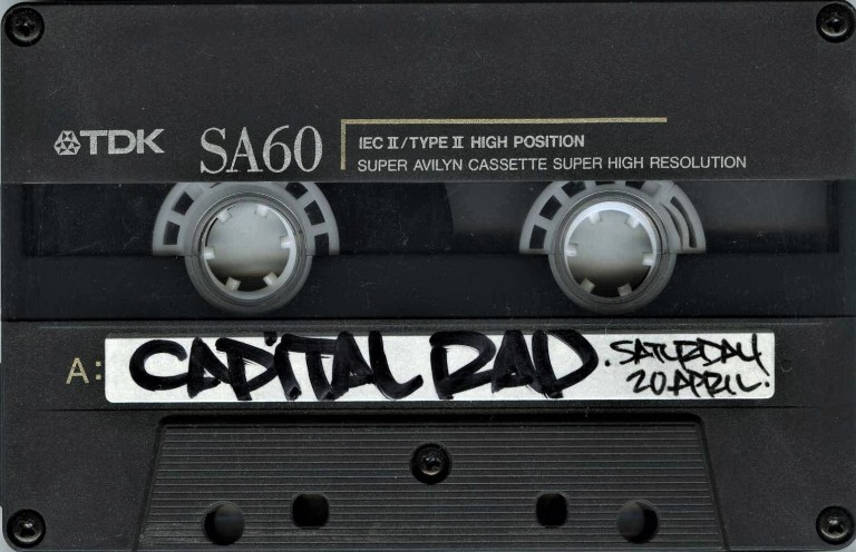 Gang Starr in conversation [Capital Rap Show] - 19 April 1991 (2) - Copy