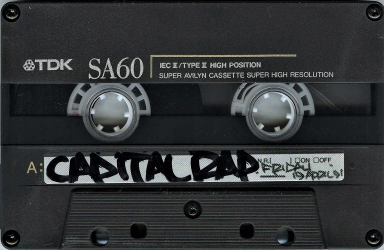 Gang Starr in conversation [Capital Rap Show] - 19 April 1991 (2)