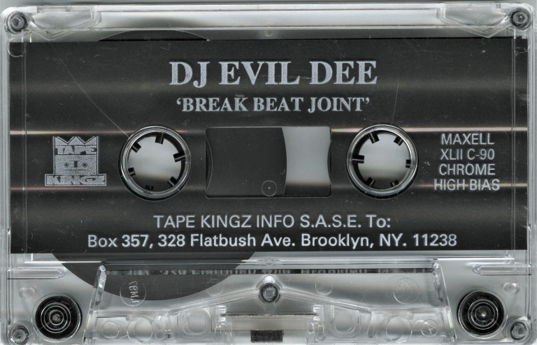 DJ Evil Dee - Break Beat Joint Cassette