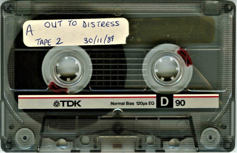 Out to Distress Rap Show – Leaky Fresh & DJ Owen D Sunset Radio - 30 November 1989 Shell 2