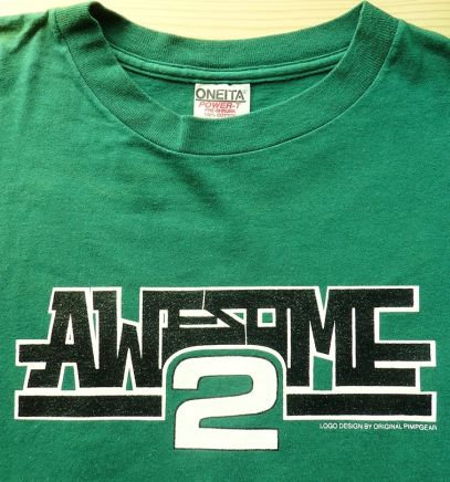 AWESOME 2 T Shirt (2)
