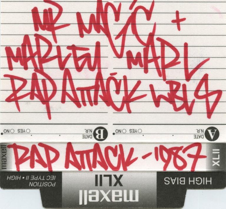RAP ATTACK JUNE 97 JCRD