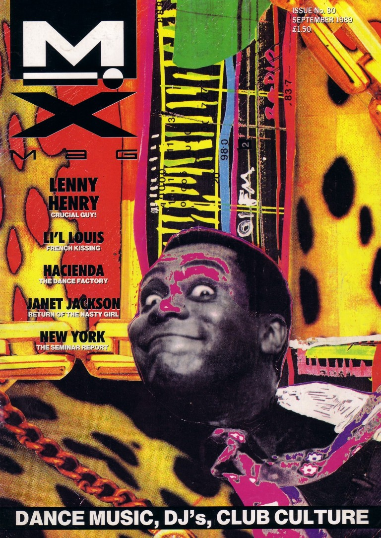 mixmag-issue-80-sep-1989- lenny henry cover