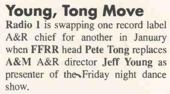.Music & Media Magazine [European Launch] - 22 Dec 1990