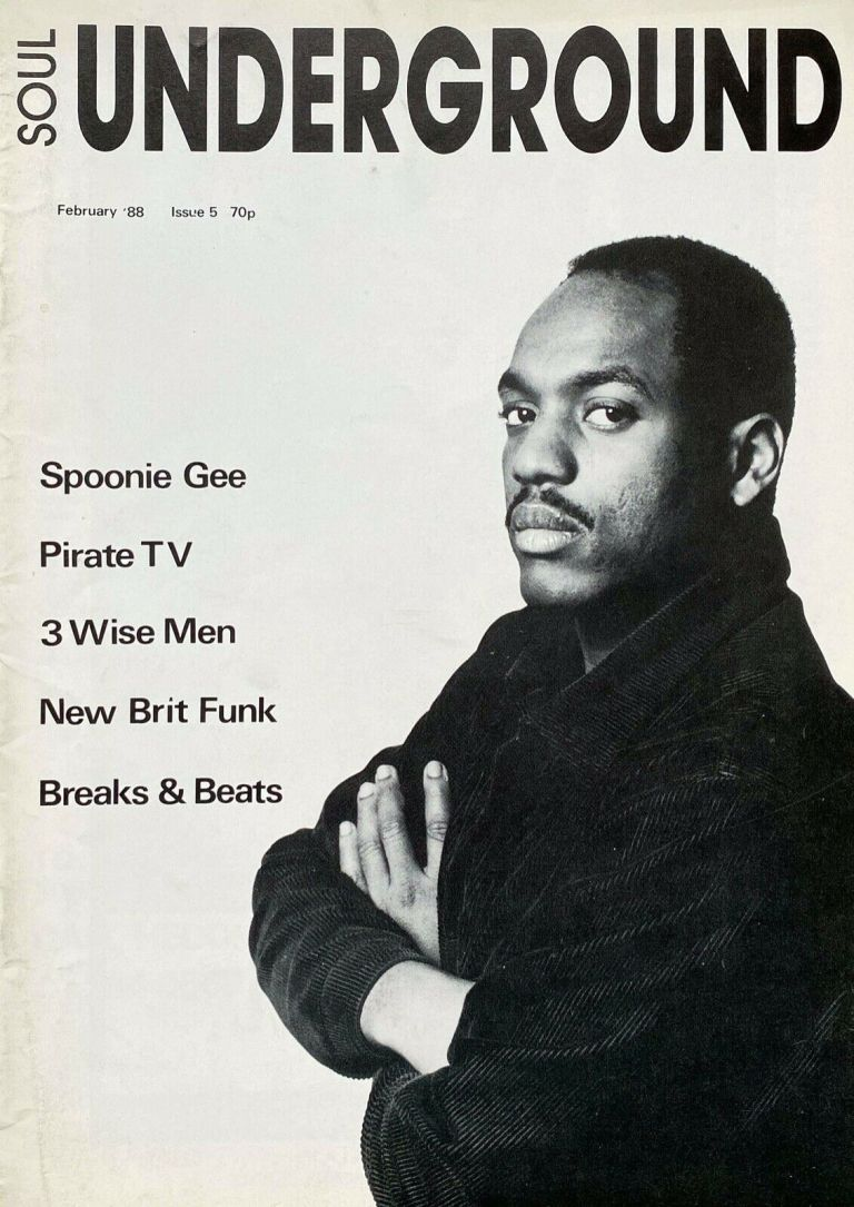 Soul Underground Magazine February 1988 Issue 5 Spoonie G Breaks & Beats Rare