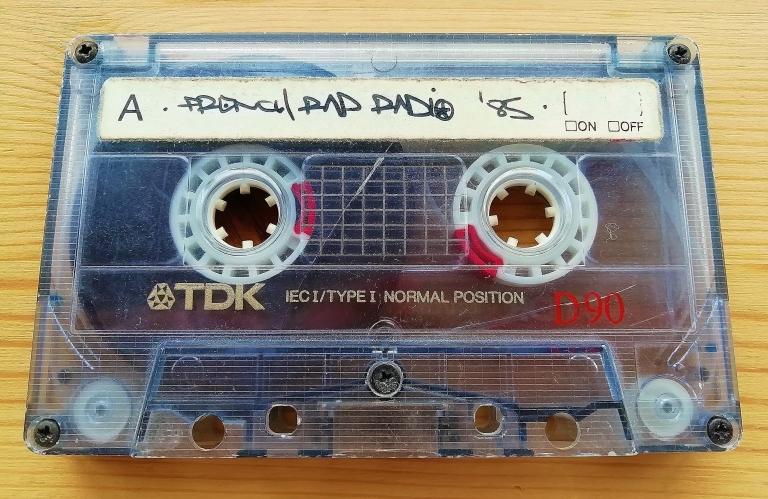 DJ Dee Nasty - Radio Nova Paris 1987 or 1988 [REMASTERED]